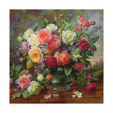 Roses - the Perfection of Summer Giclee Print by Albert Williams