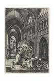 Christ Expelling the Moneychangers from the Temple, C.1519 Giclee Print by Albrecht Altdorfer