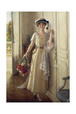 The Visit Giclee Print by Albert Lynch