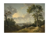 Landscape with a Waterfall, 1783 Giclee Print by Abraham Pether