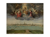Antwerp and the Vlaams Hoofd in 1600, C.1600 Giclee Print by Abel Grimmer