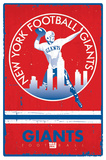 New York Giants - Retro Logo 15 Print