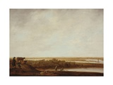 Panoramic Landscape with Shepherds, 1640-45 Giclee Print by Aelbert Cuyp