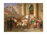The Misalliance, 1866 Giclee Print by Akim Egorovich Karneev