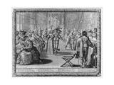 A Court Ball, C.1630 Giclee Print by Abraham Bosse