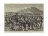 The State of Ireland, Tilling the Farm of an Imprisoned Land Leaguer Giclee Print by Aloysius O'Kelly