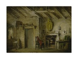 The Deans' Cottage, Stage Design for 'The Heart of Midlothian', C.1819 Giclee Print by Alexander Nasmyth