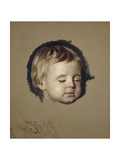 A Study of a Dead Child Giclee Print by Allan Ramsay