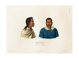 Otouré and Oupaparou Giclee Print by Ambroise Tardieu