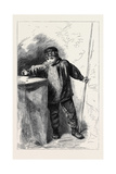 The Flyfisher, in the Winter Exhibition of the Water Colour Society 1862 Giclee Print by Alfred William Hunt