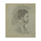 Self-Portrait Giclee Print by Alexander Orlowski
