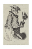 The Horticultural Man of Business Giclee Print by Alfred Crowquill