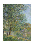 Morning Near the Loing; Matin Pres Du Loing, 1879 Giclee Print by Alfred Sisley