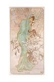 Winter; Hiver, C.1896 Giclee Print by Alphonse Mucha