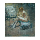 Seated Nude, C.1920 Giclee Print by Ambrose Mcevoy