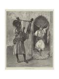 A Soudanese Minstrel in Egypt Giclee Print by Aloysius O'Kelly