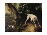 Hunting Scene Giclee Print by Alexandre-Francois Desportes