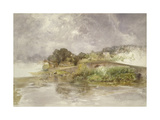 Sonning Bridge, C. 1882 Giclee Print by Alfred William Hunt
