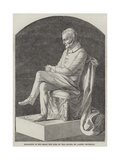 Statuette of His Grace the Duke of Wellington Giclee Print by Alfred Crowquill