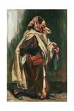 Elderly Moroccan Jew, 1867 Giclee Print by Alfred Dehodencq