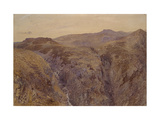 Welsh Landscape, 1858 Giclee Print by Alfred William Hunt