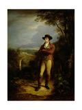 Robert Burns (1759-96), 1828 (Panel) Giclee Print by Alexander Nasmyth