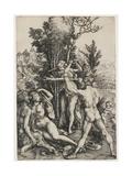 Hercules, 1498 Wydruk giclee autor Albrecht Dürer