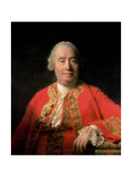 David Hume (1711-76) 1766 Giclee Print by Allan Ramsay