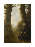 Tired Wanderer, 1878 Giclee Print by Alphonse Legros