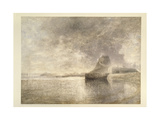 Holy Island Castle, Northumbria, C.1882-3 Giclee Print by Alfred William Hunt