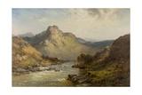 Glengarry Giclee Print by Alfred De Breanski