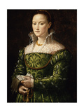 Portrait of a Lady, C.1560 Giclee Print by Alessandro Allori