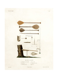Tools of the Society Islands Giclee Print by Ambroise Tardieu