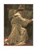 Tsar Alexej Mihailovich, 1886 Giclee Print by Alexander Dimitrievitch Litovtchenko