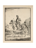 Persian on Horseback, 1820 Giclee Print by Alexander Orlowski
