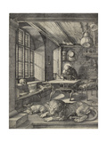 St Jerome in His Study, 1514 Giclee Print by Albrecht Dürer