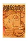 Salon Des Cent, 1897 Giclee Print by Alphonse Mucha