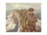 Infantry Near Nijmegen, C.1940 Giclee Print by Alex Colville
