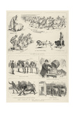 The Jubilee of the Royal Agricultural Society Giclee Print by Alfred Chantrey Corbould