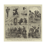 The Military Tournament at the Agricultural Hall Giclee Print by Alfred Chantrey Corbould