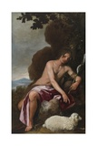 St. John the Baptist, 1645-52 Giclee Print by Alonso Cano