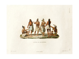 Natives of the Island of Rotuma Giclee Print by Ambroise Tardieu