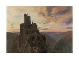 Ehrenburg on the Mosel Giclee Print by Alfred William Hunt