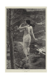 A Wood-Nymph Giclee Print by Alfred Seifert