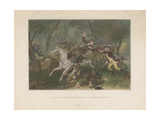 Death of Major Ferguson at King's Mountain, 1863 Giclee Print by Alonzo Chappel