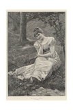 The First Romance Giclee Print by Alfred Seifert