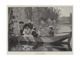 Sur L'Eau Giclee Print by Alfred-Henri Bramtot