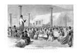 Zion School for Colored Children, Charleston, South Carolina, Pub. 1866 Giclee Print by Alfred R. Waud