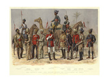 The Madras Army, and Troops under the Government of India Giclee Print by Alfred Crowdy Lovett