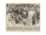 The Disgraceful Scene in the House of Commons, Ejecting Refractory Irish Members Giclee Print by Alexander Stuart Boyd